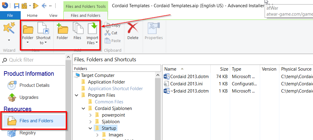 EMS case: distributing Office templates and macro's to your