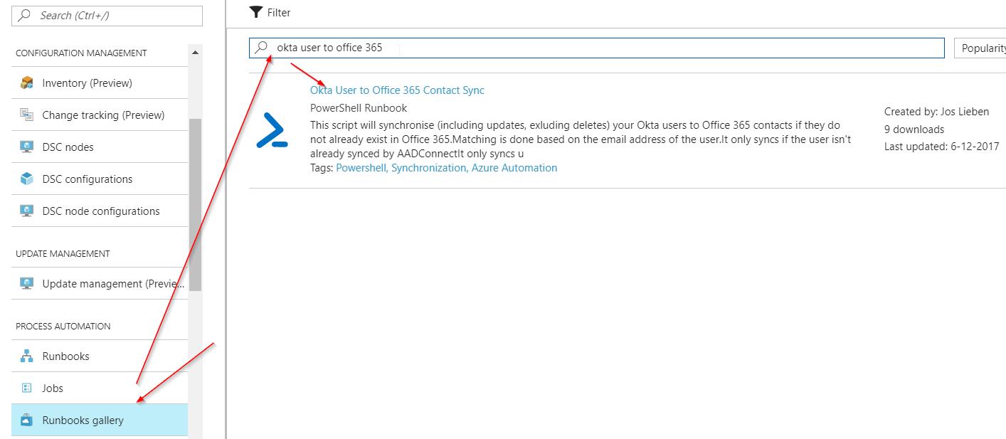 Setting up Okta User -> Office 365 contact synchronisation | Liebensraum