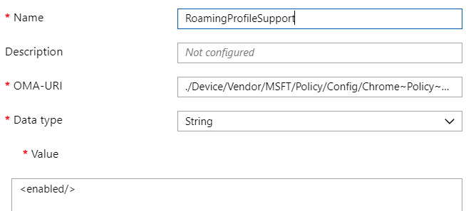 Roaming Chrome settings with Intune MDM | Liebensraum